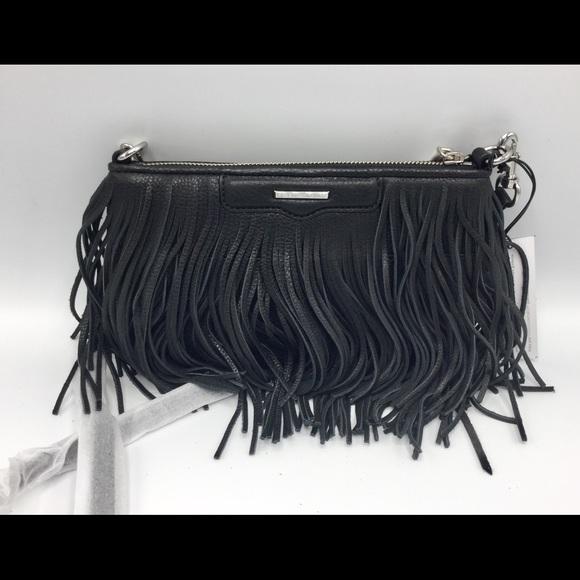 af9e6d4f8 Rebecca Minkoff Bags   Finn Fringe Leather Crossbody   Poshmark